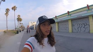KARLIE THOMA - SURF/SKATE VENICE BEACH - VLOG 2