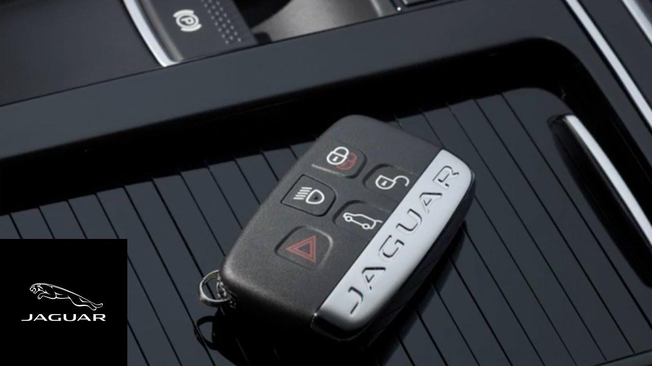 Car Key Fob >> Jaguar F-PACE 2017 | Activity Key - YouTube