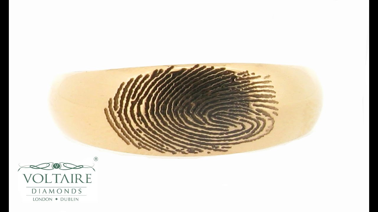 should wide ring fingerprint your thick be t how rings larsonjewelerswidths wedding thickness