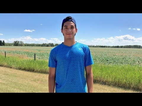 On his own 2 feet: How a Sask. Indigenous track star keeps moving forward