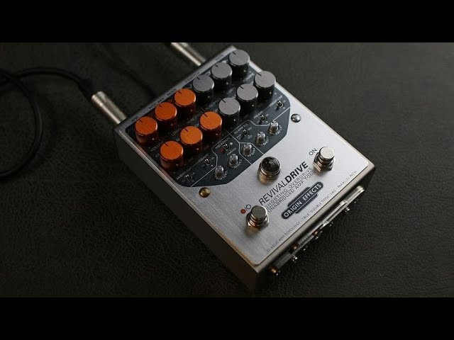 Origin Effects RevivalDRIVE Killer Tones - Demo by Simon Gotthelf