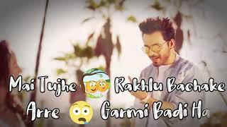 😍Coca Cola Tu Tony kakkar whatsapp status🤗 | Lyrics video | Romantic whatsapp status | Tony Kakkar