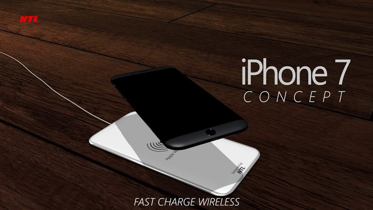 iphone 7 charger iphone 7 concept w apple wireless charger 11525
