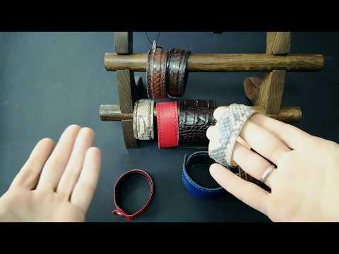 Крутой кожаный браслет за 15 минут своими руками. Мастер-класс TsarArt