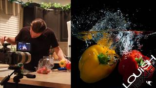 How To Do Flash Studio Photography With Water Splash Strobes Speedlite