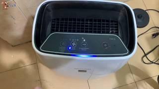 Soc - (Review) Giới thiệu Máy Lọc Không Khí Sharp FP-J40E-W |