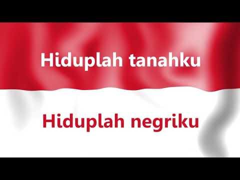 Indonesia Raya Vocal Dan Teks