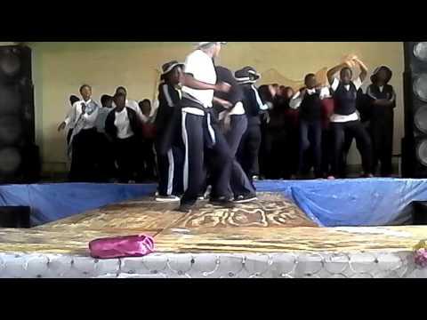 Mount saint mary's high school wedza upper six and f 4's dancing to uhuru vimbai .'ntombie ' mtizwa