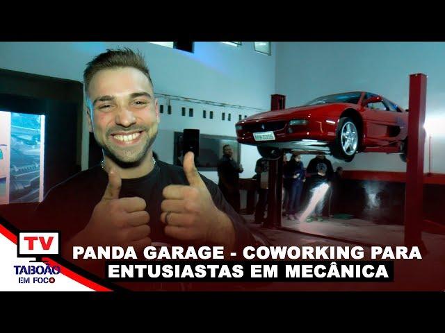 Panda Garage é inaugurado em Taboão da Serra