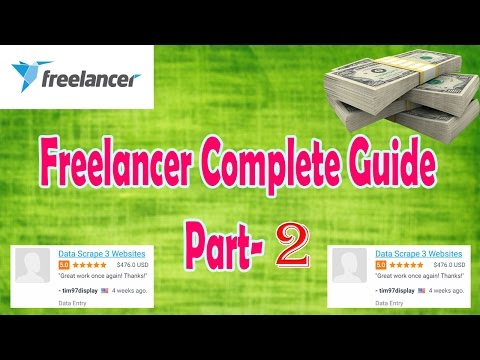 Freelancer Part - 2 | My First Project | Get Award | Bidding