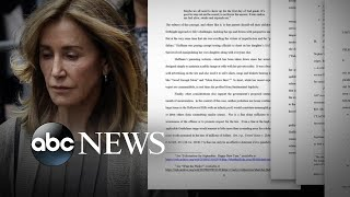 Feds pushing for prison time for Felicity Huffman in college scam l ABC News