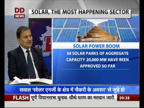 Economy Today: Discussion on Job opportunities in Solar Ener
