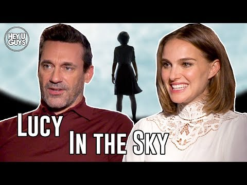 Natalie Portman & John Hamm On The Universal Love Story At The Heart Of Lucy In The Sky