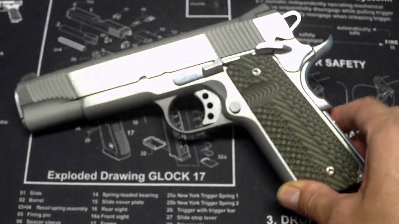 Magwell for Springfield 1911 A1 Loaded
