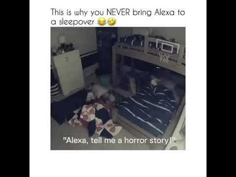 Kid gets scared by Alexa 😂🤣
