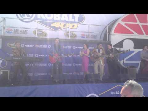Million Dollar Quartet Performs At NASCAR Las Vegas