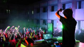DJ Deyo Live at CUSAT , Sparsh 2015 Siberia Hostel Fest (Cochin University)