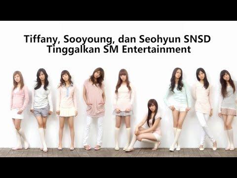 Tiffany, Sooyoung, Dan Seohyun SNSD Tinggalkan SM Entertainment