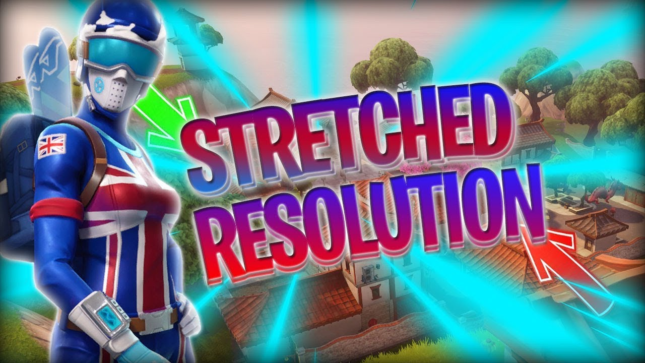 STRETCHED RESOLUTION FORTNITE AFTER PATCH 1440x1080
