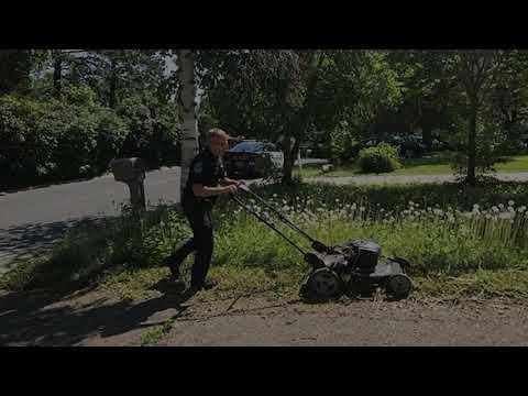 Maverick - Police Officer Responding on Welfare Check Mows Elderly Woman's Lawn