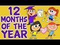 Months Of The Year Song 12 Months Of The Year Kids Songs By The Learning Station mp3