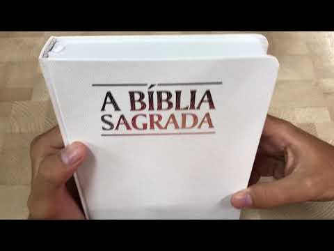 bíblia-sagrada- -acf- -letra-grande- -luxo- -branca---livrarias-família-cristã