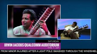 Kartik Seshadri Talks About Indian Classical Music and Plays the Sitar