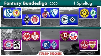 FIFA 20: Fantasy Bundesliga - Spieltag 1 l Deutsch [FULL HD]