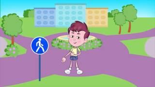 Правила дорожного движения (ПДД) 🚗 для детей в стихах. 🚦 Развивающий мультик. Урок 22