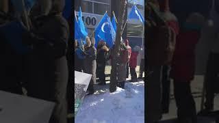 Канада. Уйгуры вышли в поддержку необходимости борьбы против геноцида мусульман в Китае