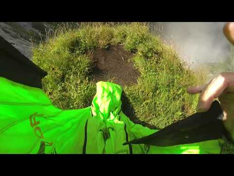 RAW Wingsuit Flight: Sputnik Crack Line