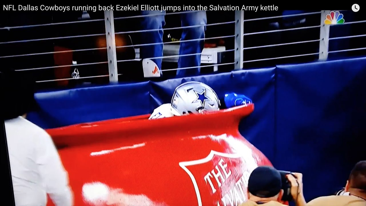 b834cae0ded Zeke's Salvation Army Leap Wasn't So Original, Turns Out. | Central Track