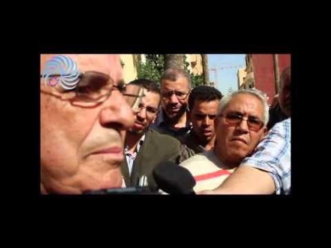 Avocats d'Oujda protestent contre l'algerie