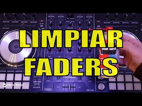 Limpiar Faders, en Controladores o Mixers (Fader Cleaning)