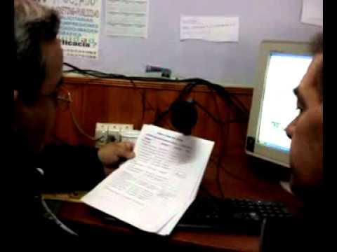 Pedro en Radio Centinela