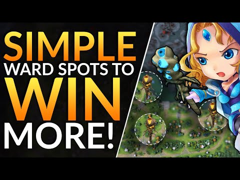 BEST WARD SPOTS You MUST ABUSE - Pro Tips To CARRY With Warding | Dota 2 Guide (PRO Support)