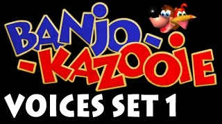 Banjo-Kazooie Voices Set 1