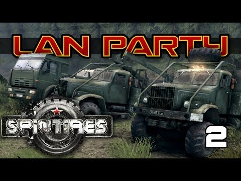 SPINTIRES - Rock and a Hard Place - LAN Party