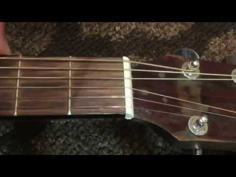 how to replace acoustic guitar nut detailed instructions youtube. Black Bedroom Furniture Sets. Home Design Ideas