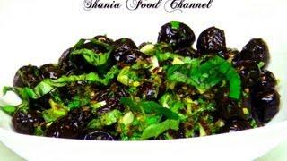 How To Make Marinated Kalamata Black Olives Recipe