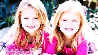 Baylie & Rylie Cregut || Identical Twins ♥