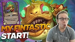 What a FANTASTIC START FOR ME! A Near Perfect Game!   Hearthstone Battlegrounds   Savjz