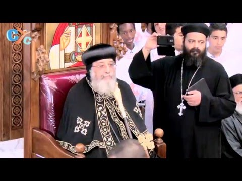 Pope Tawadros meeting with the people of St. Mark Church, Houston October 12, 2015