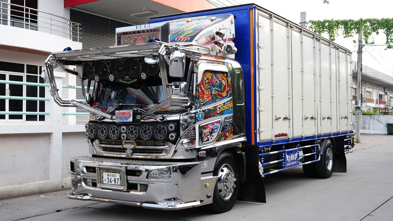 เปลี่ยนบรรยากาศ มาชมรถบรรทุก 6 ล้อ ดีกรีแชมป์ความสวยงามกันบ้าง สวยจริง ใช้งานจริง : รถซิ่งไทยแลนด์