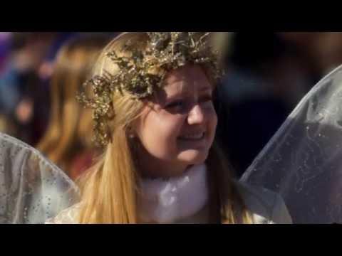 Love Grows at Christmastime (Lyrics) - One Voice Children's Choir