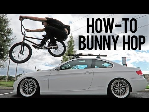 How to Bunny Hop BMX - The Easiest Way
