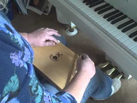 How to Tune Your Music Maker or Melody Harp Zither, or Lap Harp, to G Major