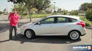 2012 Ford Focus Electric Test Drive & EV Car Video Review