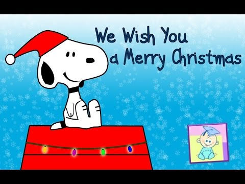We Wish You a Merry Christmas | Music Video for Kids with Lyrics ...