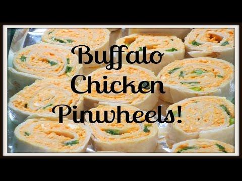 Buffalo Chicken Pinwheels - Quick & Easy Recipe!